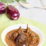 gutti vankaya, gutti vankaya kura or curry (enne badanekai recipe)