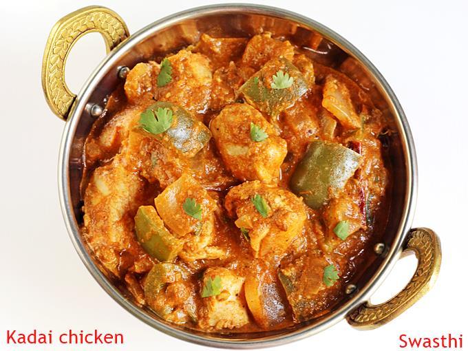 recipe: kadai chicken with capsicum recipe [32]
