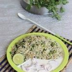 methi pulao recipe , how to make methi pulao or methi pulav