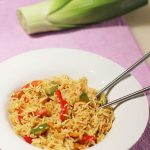 Singapore Vegetable Fried Rice Recipe