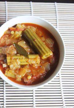 Drumstick curry recipe   Drumstick vegetable recipe   Munagakaya curry