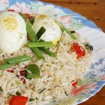 boiled egg fried rice | Indian egg fried rice recipe