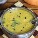 dal pumpkin recipe without onion garlic | gummadikaya pappu