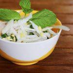 radish salad | radish salad recipe | mullangi kosambari