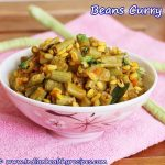 Beans Curry | Poriyal