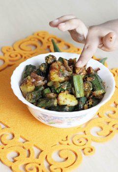 Bhindi Masala Recipe – Easy North Indian Vegetable Side Dish
