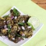 Gongura chicken fry – roasted chicken with gongura