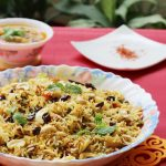 hyderabadi vegetable dum biryani recipe, how to make hyderabadi biryani