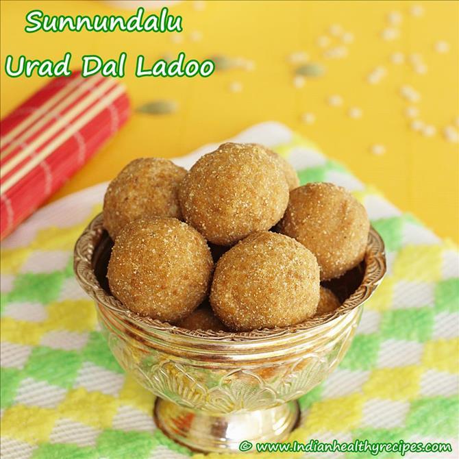 andhra special festive delight minapa sunnundalu