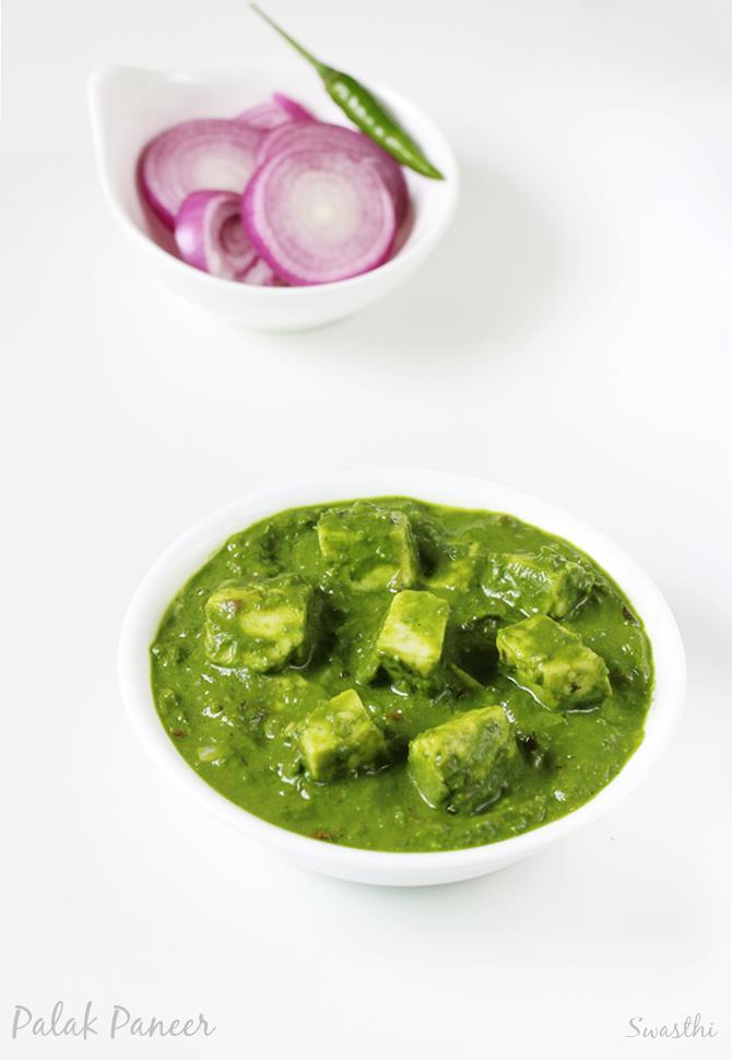 Palak paneer sanjeev kapoor khana khazana recipes delicious palak paneer sanjeev kapoor khana khazana recipes forumfinder Image collections