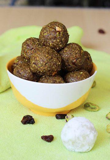 raisin nut balls