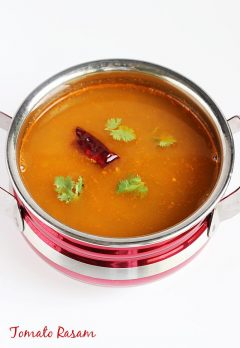 Tomato rasam recipe | Tomato charu recipe | Rasam recipes