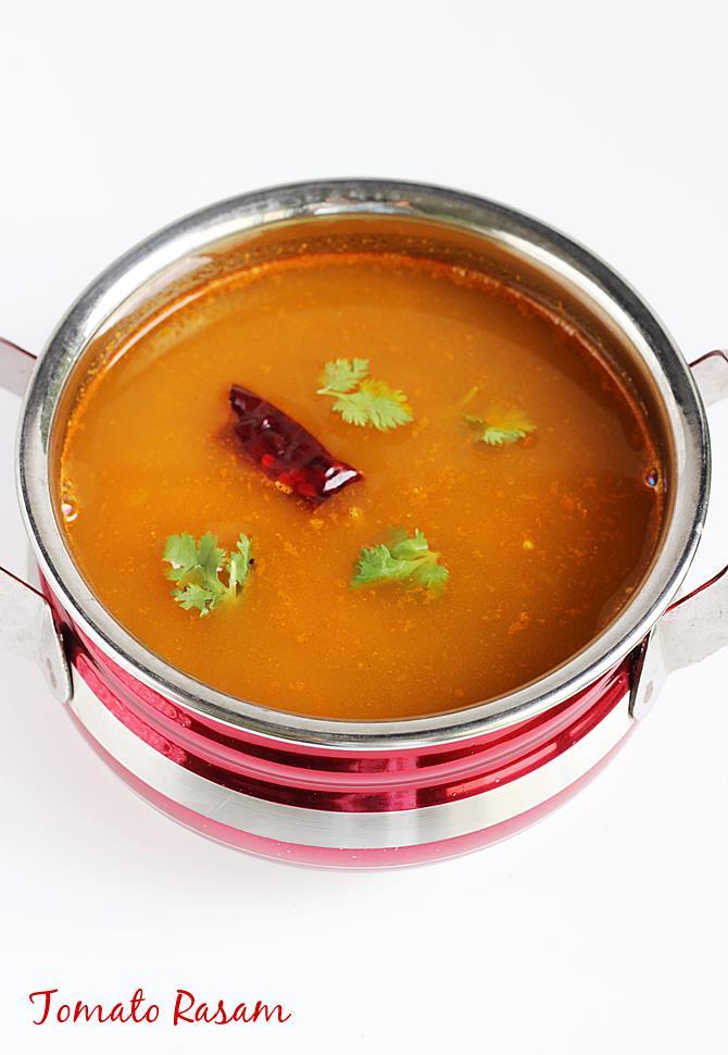 tomato rasam recipe tomato charu