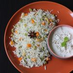 Vegetable Pulao Recipe – mixed veg soya chunks pulav
