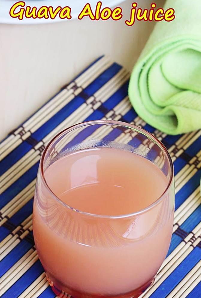 aloe vera guava juice