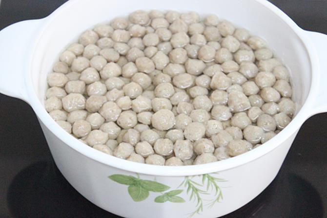 how to boil soya chunks
