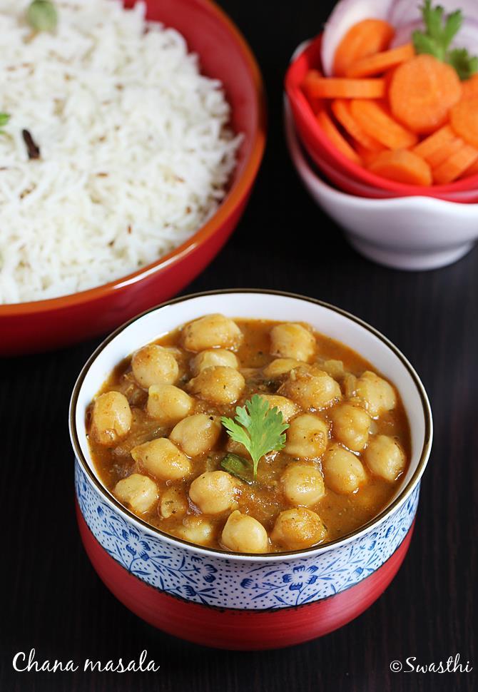 chana masala recipe swasthi