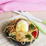 Chinese Egg Fried Noodles Recipe