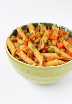 Masala pasta recipe   Macaroni recipe for kids   Indian style pasta recipe