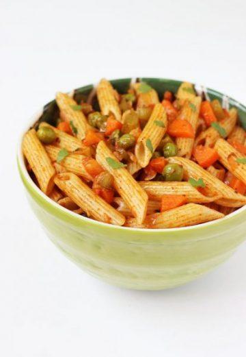 Masala pasta recipe | Macaroni recipe for kids | Indian style pasta recipe