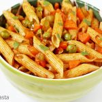 Masala Pasta Recipe – Indian Healthy Kids Pasta Recipe