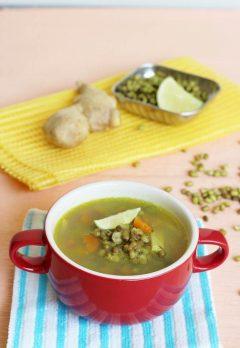 moong bean detox soup recipe