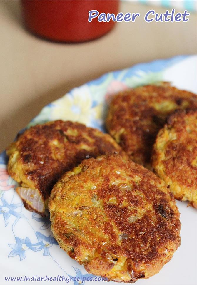 paneer cutlet paneer tikki recipe swasthisrecipes
