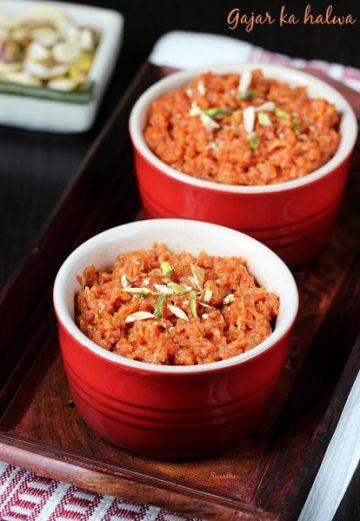 Carrot halwa recipe | Gajar ka halwa recipe | North Indian carrot halwa