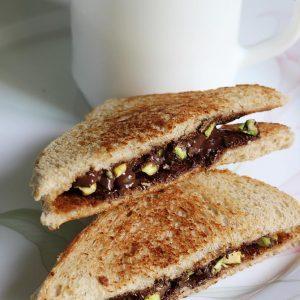 Chocolate sandwich recipe | How to make chocolate sandwich