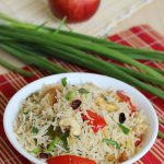 Apple Fried Rice Recipe – Easy Indian Kids Lunch Box Recipe