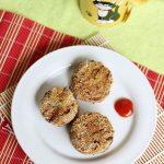 Mushroom Cutlet – Mushroom tikki (Easy Vegetarian Mushroom Recipe)