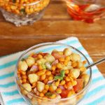 chana chaat recipe (chole chat) – chickpeas salad recipe