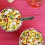 corn chaat recipe – easy healthy corn recipe (corn salad)