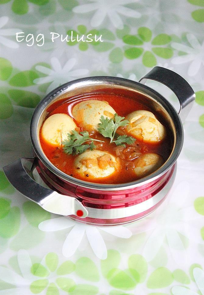 simple easy egg pulusu recipe stew