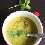 Indian chickpea soup recipe – healthy breakfast soup
