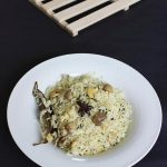 Mushroom Pulao Recipe – Easy Mushroom Rice Recipe