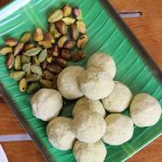 pista ladoo recipe – sweet pistachios balls recipe