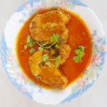 Fish curry recipe | Fish pulusu (andhra style fish curry)
