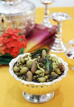 navadhanya sundal – navadhanyam guggillu recipe
