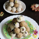 badam laddu – almond ladoo recipe – easy diwali sweets