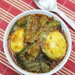 Beerakaya Kodi Guddu Kura | Andhra Ridge Gourd Egg Curry Recipe