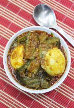 beerakaya kodi guddu kura | andhra ridge gourd egg curry recipe