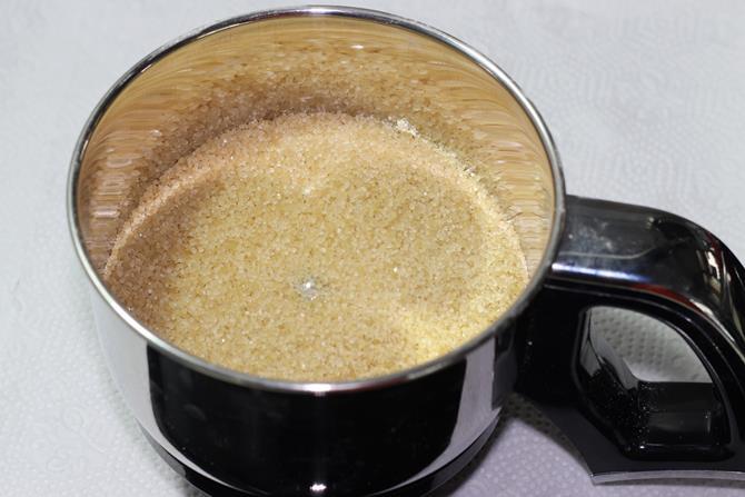powder sugar for moong dal laddu