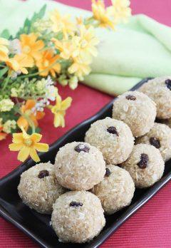 oats laddu or oats ladoo recipe