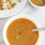 shorba recipe, sherva recipe   veg side gravy for biryani
