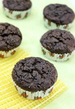 Eggless Banana Chocolate Muffins – No Butter, No Oil, No Sugar Recipe