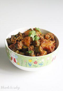 bhindi ki sabzi recipe   ladies finger curry recipe