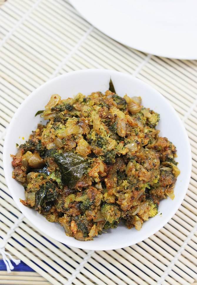 indian broccoli stir fry recipe