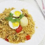 egg biryani recipe – how to make easy egg biryani