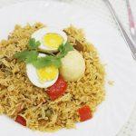 egg biryani recipe – how to make easy egg biryani recipe